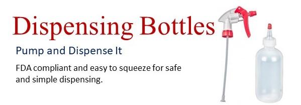 Wide Variety of Plastic Dispensing Bottles