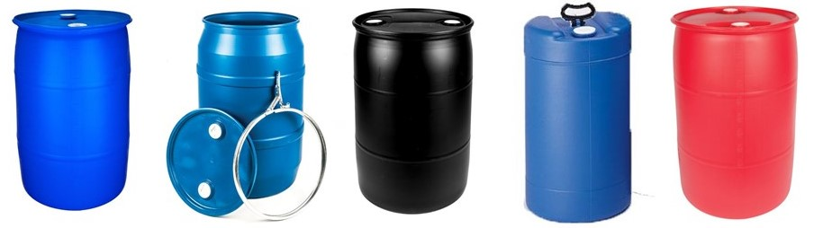 Wide Variety of Plastic Drums
