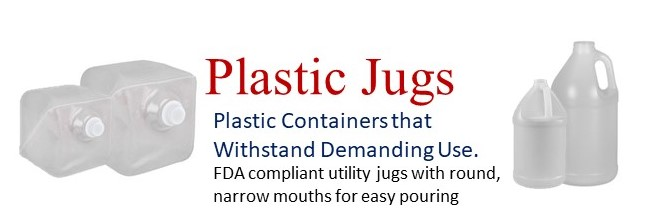 Wide Variety of Plastic Jugs
