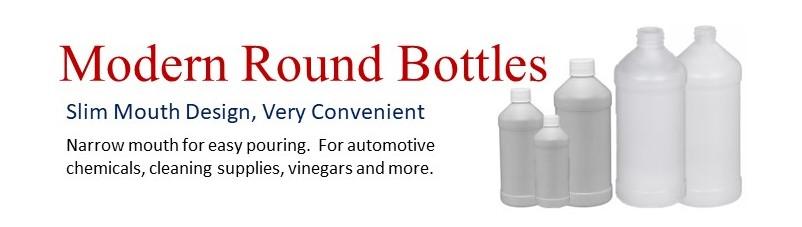 Wide Variety of Plastic Modern Round Bottles