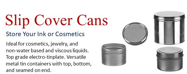 Wide Variety of Slip Cover Cans