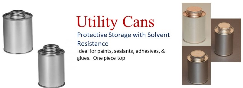 Wide Variety of Utility Cans