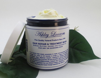 Deep conditions and moisturizes a variety of hair types.  Works especially well for very dry curly hair. Enriched with Shea butter, herbs and natural oils.