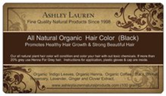 Organic Black Hair Color