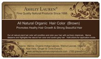 Organic Brown Hair Color