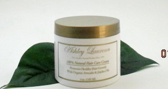 Natural Hair Care Cream 4 oz.