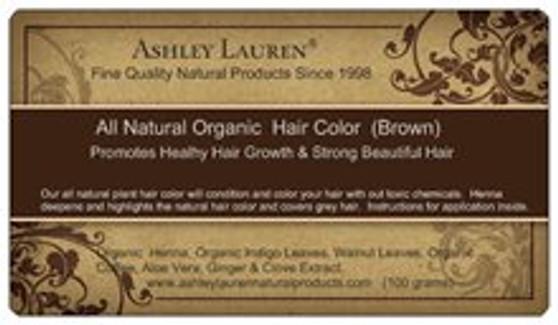 Organic Brown Hair Color