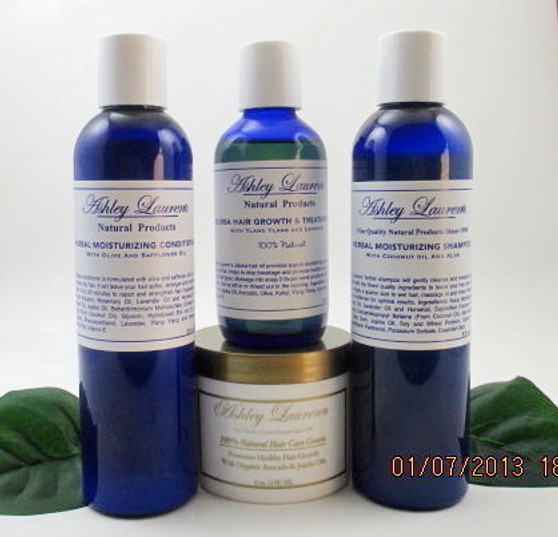 4 Piece Herbal Kit  /Hair Cream