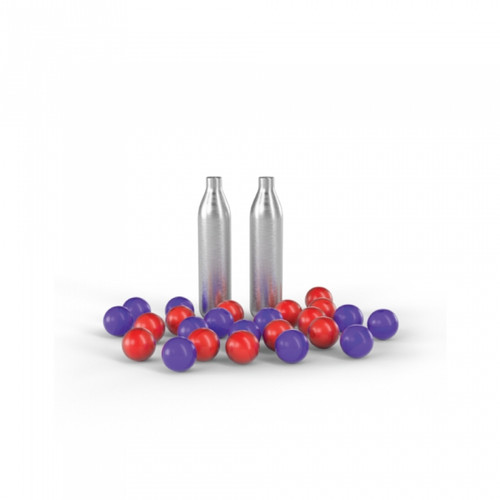 PepperBall TCP Round Refill Kit w/CO2 Cartridges