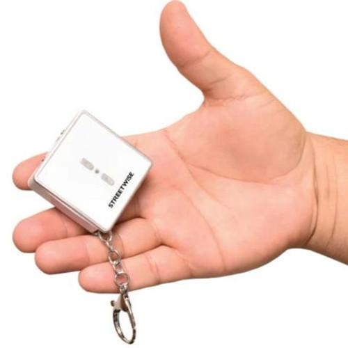 Square Off 26,000,000 Keychain Stun Gun - WHITE