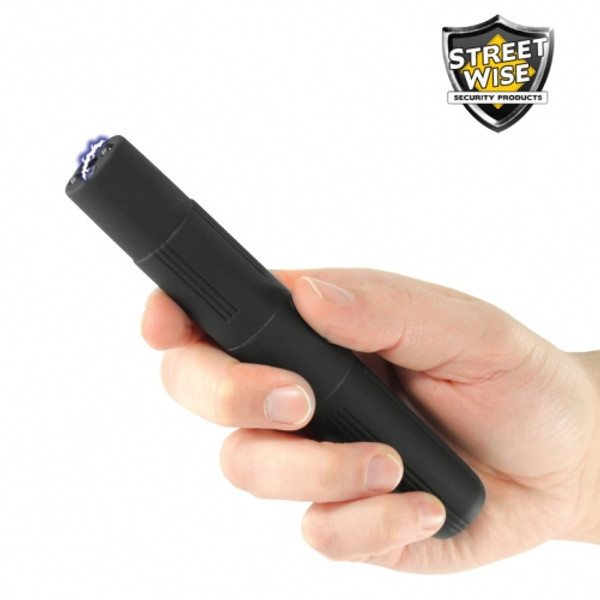 Lightning Rod 2,500,000* Rechargeable Stun Pen Black