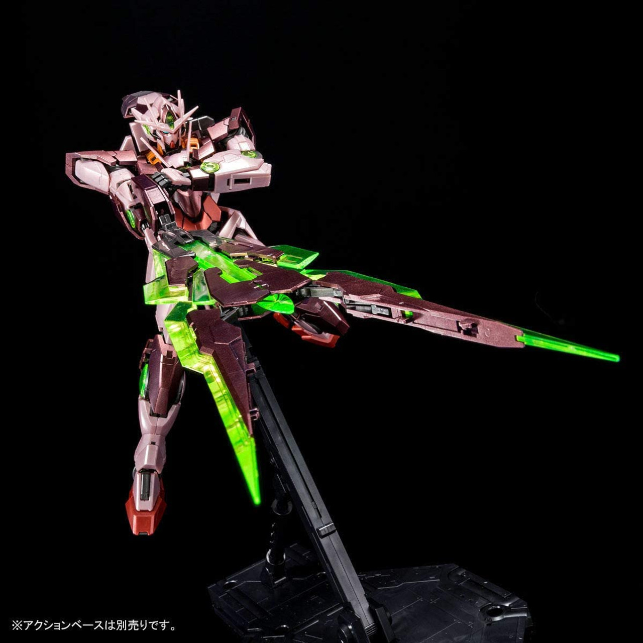 BANDAI MG 00 Qan [T] (Trans-Am Mode) [Special Coating] 1/100 * Action Base is not included.