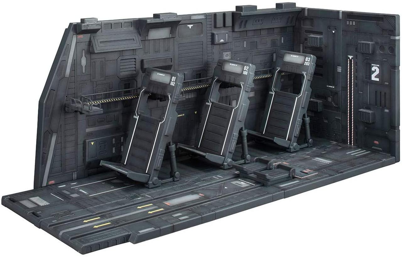 BANDAI SPIRITS Realistic Model Series Mobile Suit Gundam White Base Catapult Deck for 1/144 HGUC Renewal edition