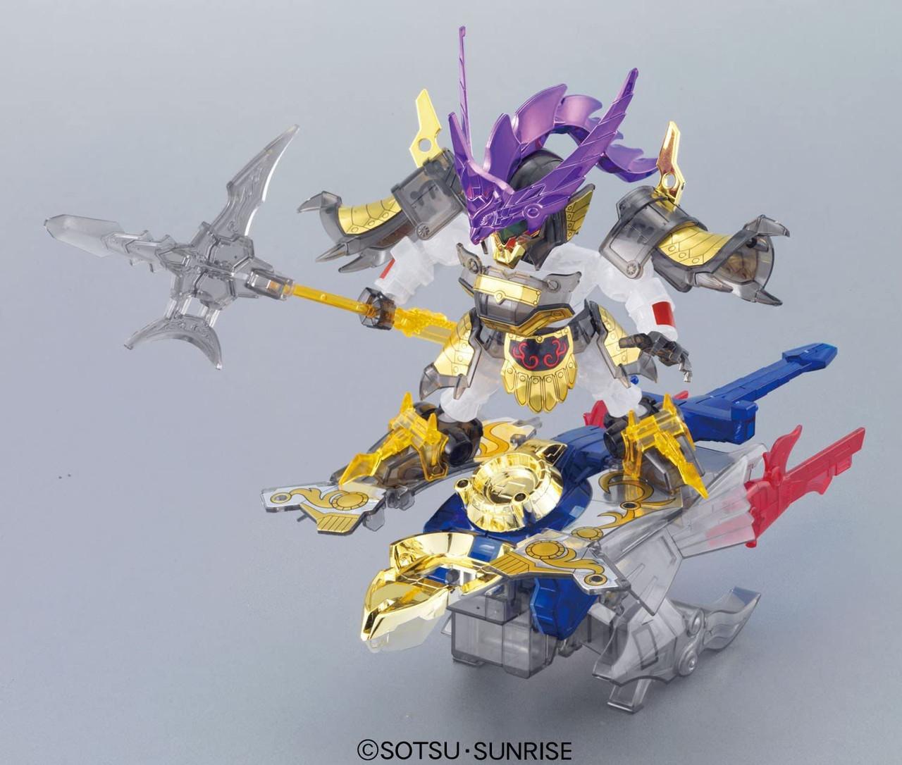 BANDAI SPIRITS SD Gundam Sangokuden Brave Battle Warriors Tallgeese / Akatsukima / Tentama Armor Clear color version