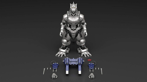 Aoshima Godzilla x Mechagodzilla MFS-3 Kiryu Height approx. 24 cm Color-coded Plastic Model GO-01