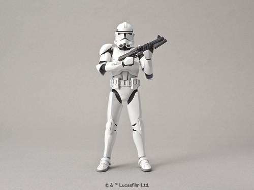 BANDAI SPIRITS Star Wars Clone Trooper 1/12 Scale Plastic Model