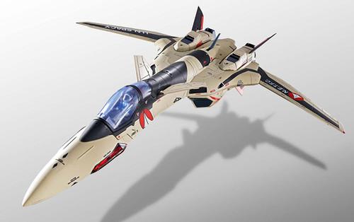 BANDAI DX Chogokin Macross Plus YF-19 Full Set Pack approx. 250mm Die-cast & ABS & PVC painted action figure