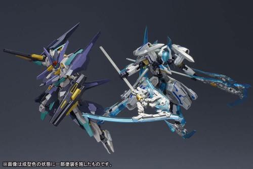 KOTOBUKIYA Frame Arms Versus Set of ZelFikar VS Hresvelgr Ater 1/100 Scale Plastic Model