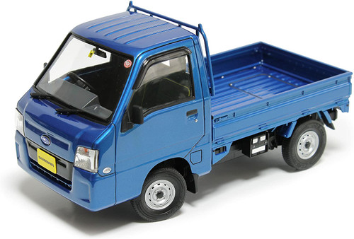 AOSHIMA 1/24 GT Series No.22 Subaru 11 Sambar Truck WR Blue Limited Plastic Model (