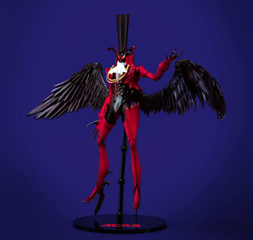 AOSHIMA Persona 5 Arsene Height approx. 26 cm Color-coded plastic model PE-01