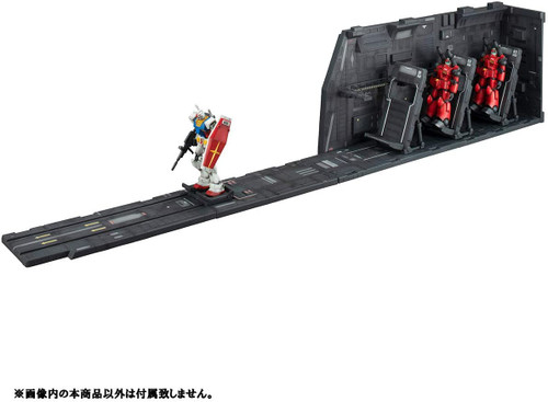 BANDAI SPIRITS Realistic Model Series Mobile Suit Gundam White Base Catapult Deck for 1/144 HGUC Renewal edition   * Plastic Models are not included.