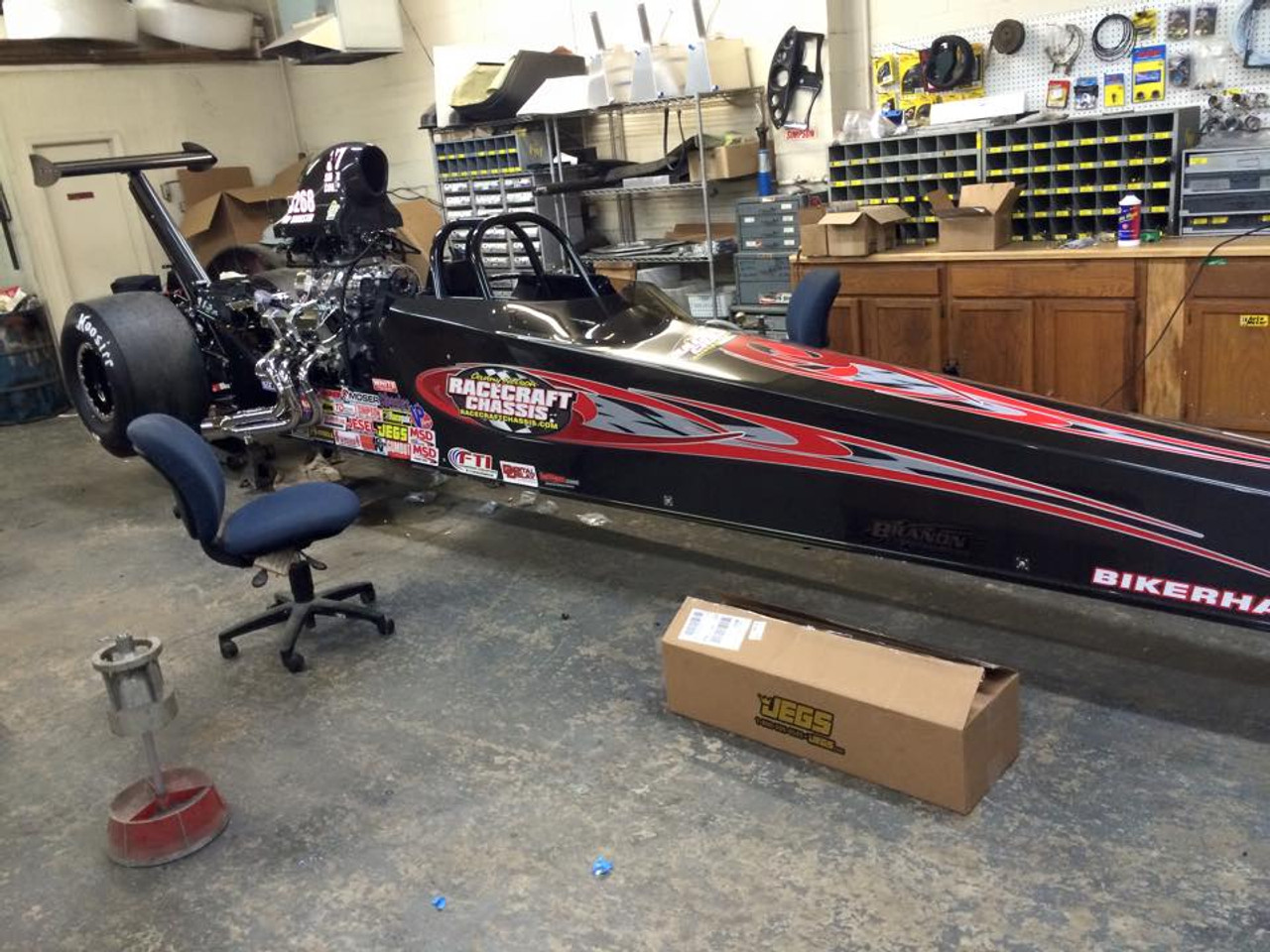 2015 Danny Nelson Top Dragster Chassis