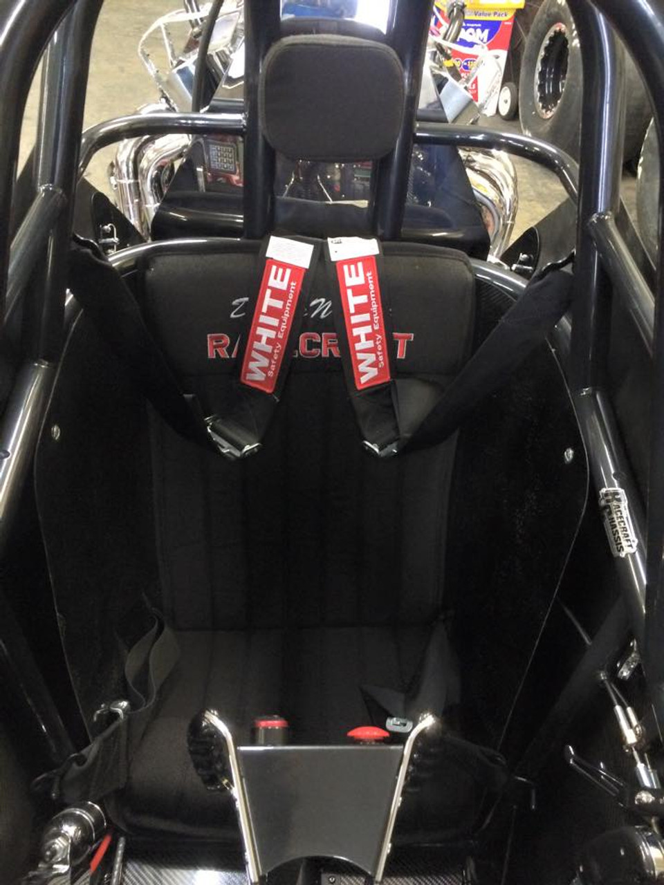 Danny Nelson Racecraft Chassis dragster seat