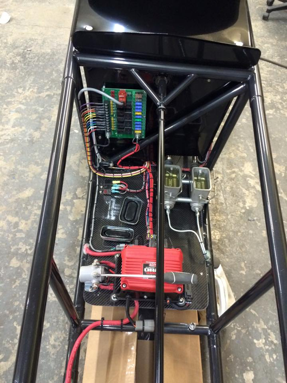 Danny Nelson Racecraft Chassis ignition wiring