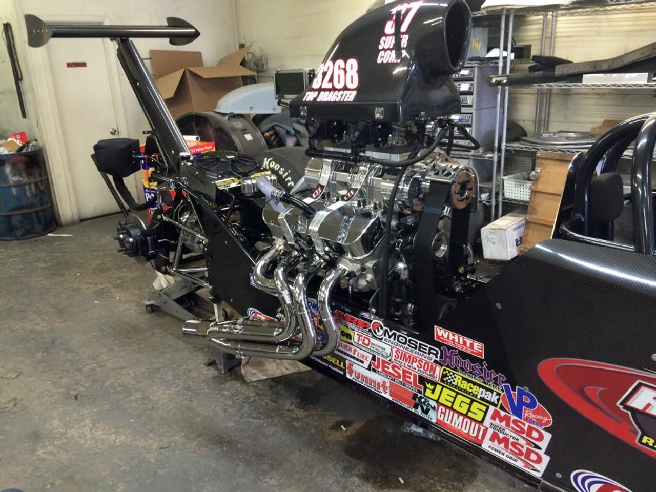 Danny Nelson Racecraft Chassis Stage 5 Top blower Motor