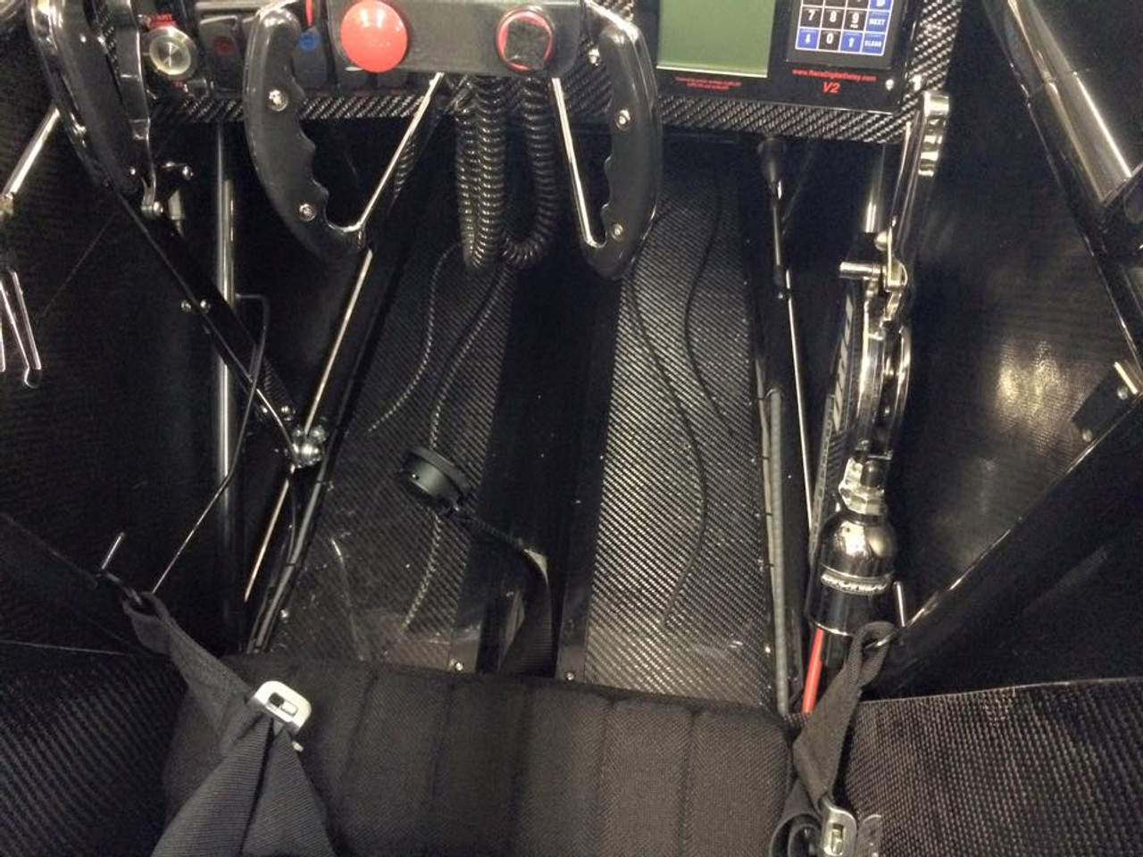 Danny Nelson Racecraft Chassis interior