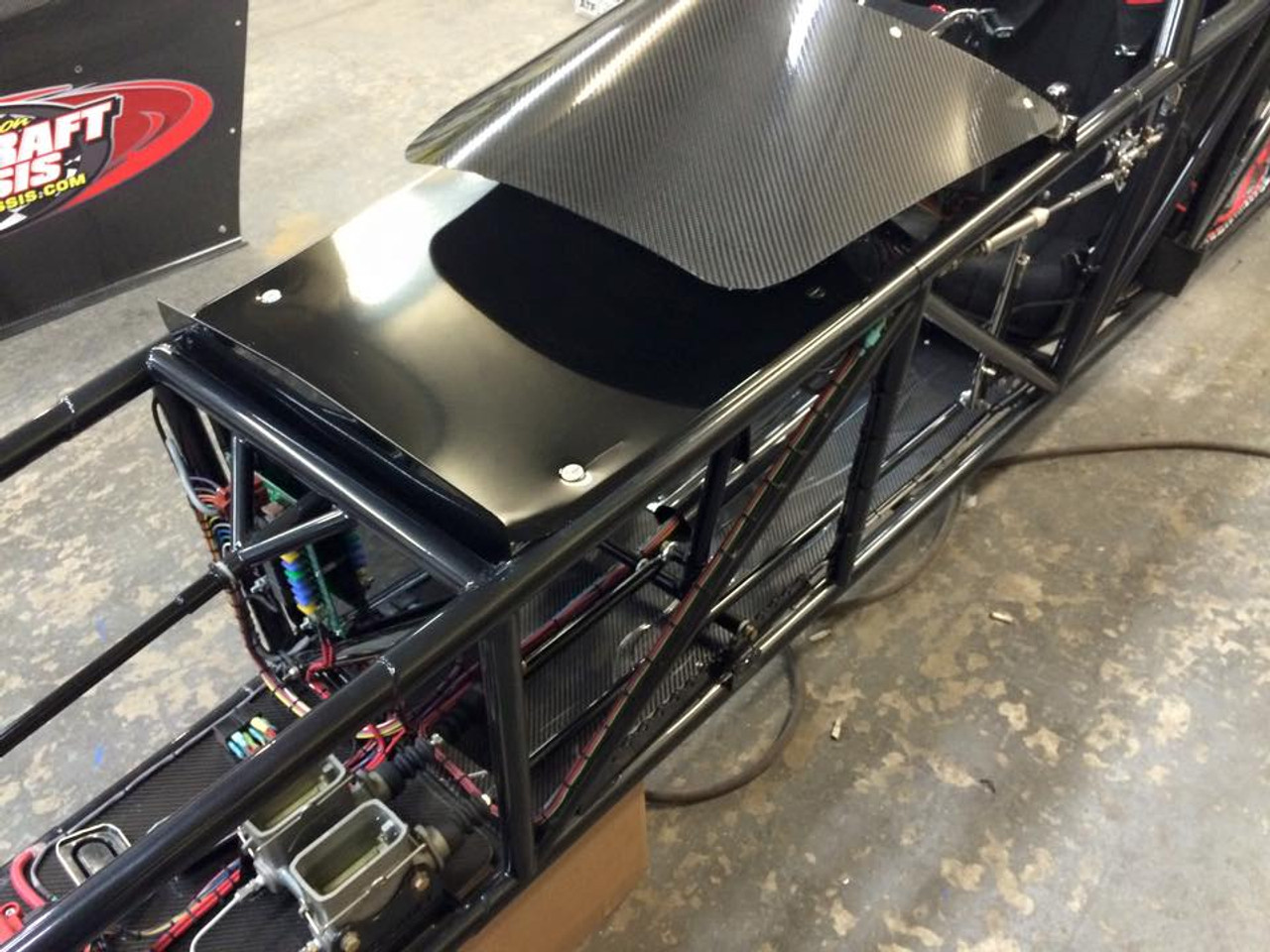 Danny Nelson Racecraft Chassis carbon panels