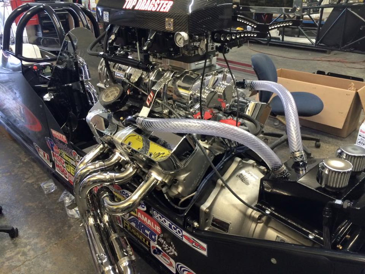Top Dragster Blower Engine
