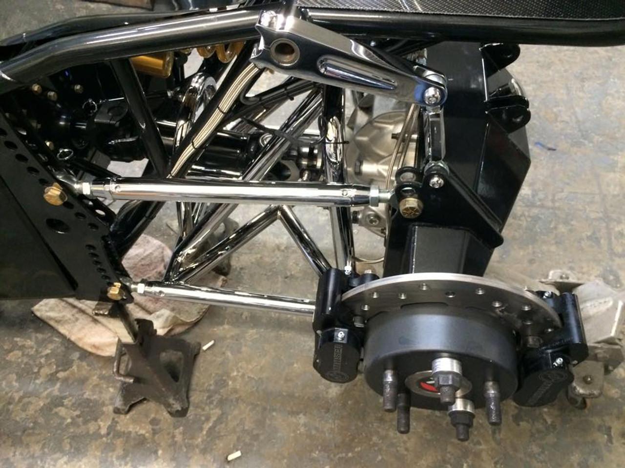 Danny Nelson Racecraft Top Dragster Carbon Car Swingarm