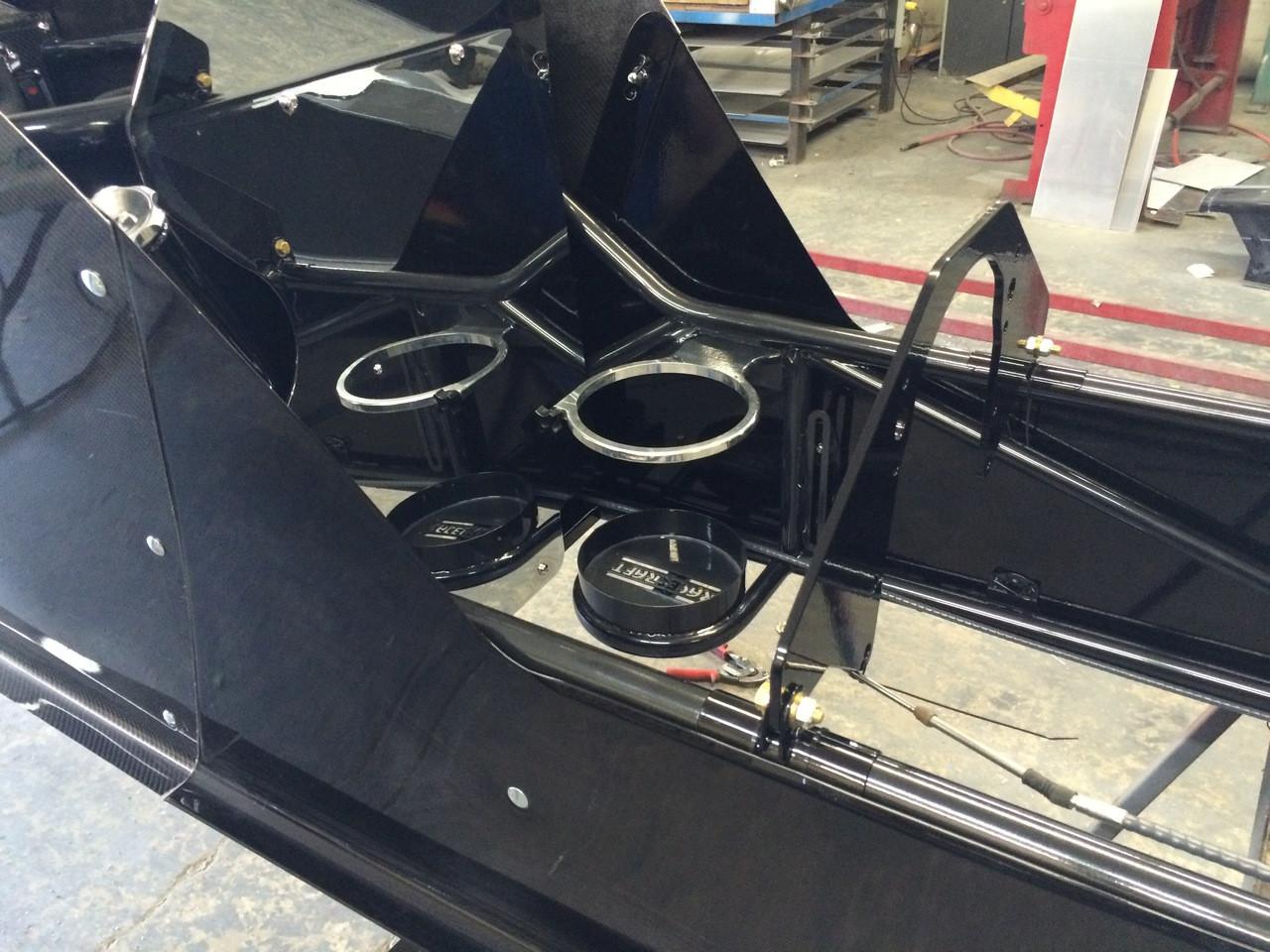 Danny Nelson Racecraft Top Dragster Carbon Car Nitrous Bottle Mount