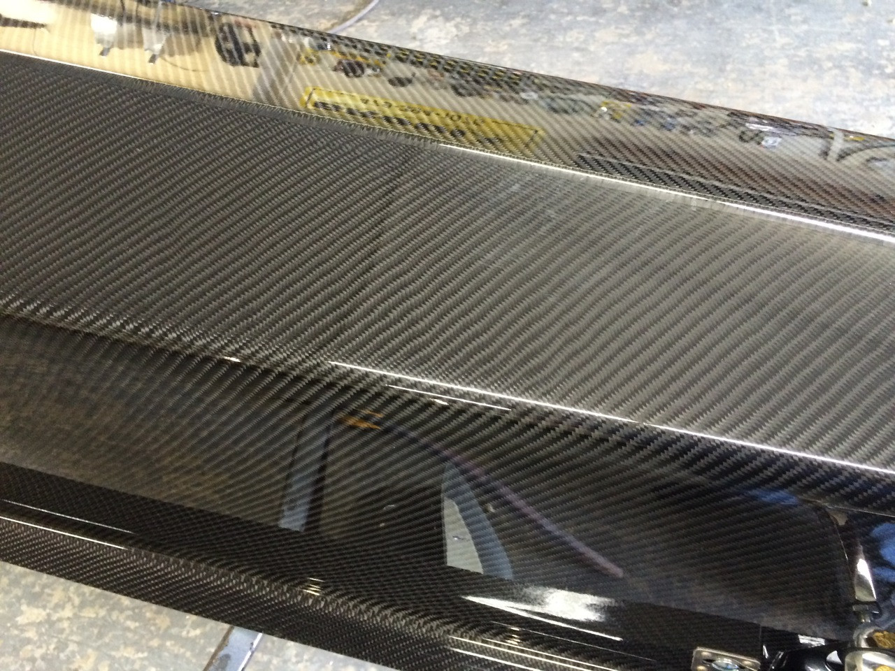 Danny Nelson Racecraft Top Dragster Carbon Body