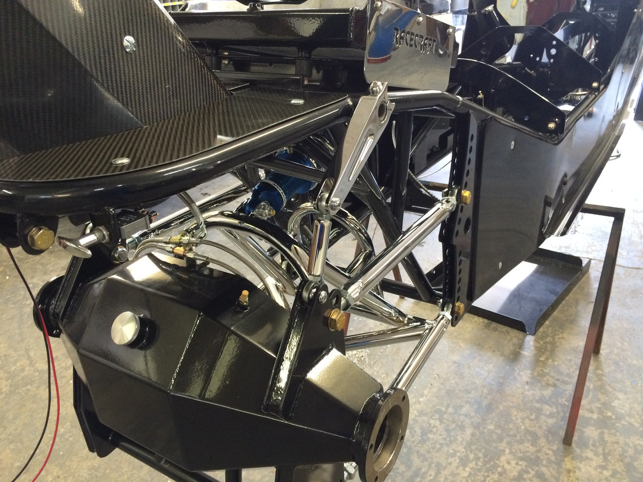 Danny Nelson Racecraft Top Dragster Rear End Housing