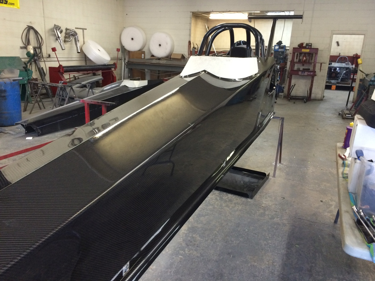 Danny Nelson Racecraft Top Dragster Carbon Car Body