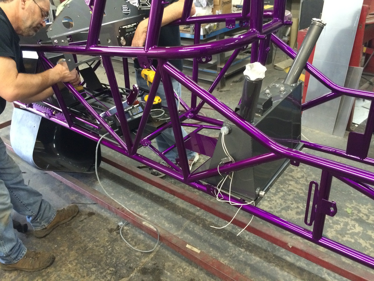 Danny Nelson Racecraft Chassis chassis