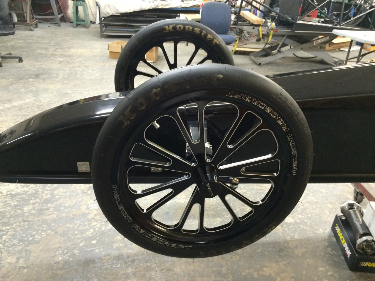 Danny Nelson Racecraft Chassis front wheels