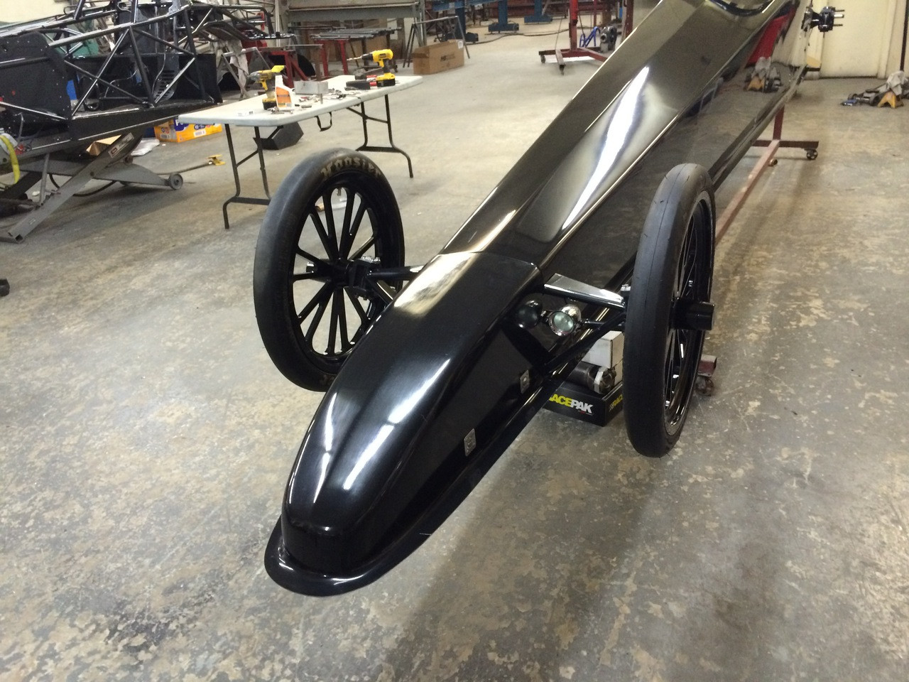 Danny Nelson Racecraft Chassis front end