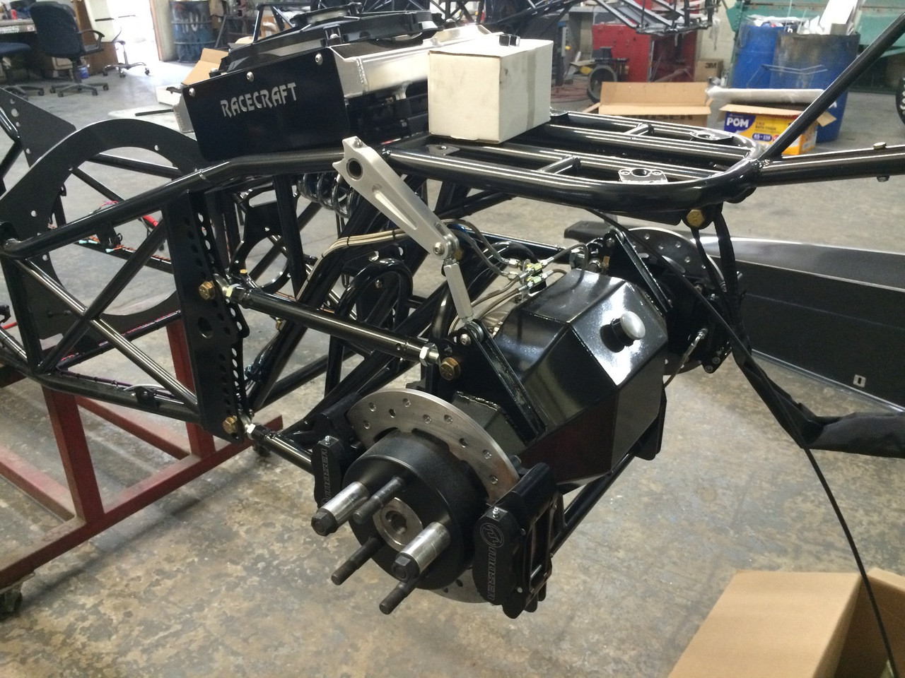 Danny Nelson Racecraft Chassis rear end housing