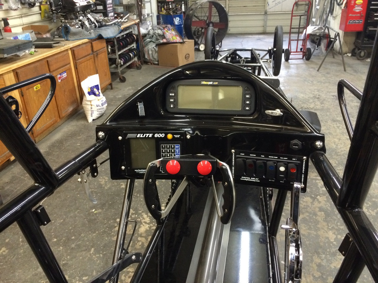 Danny Nelson Racecraft Chassis dragster dash