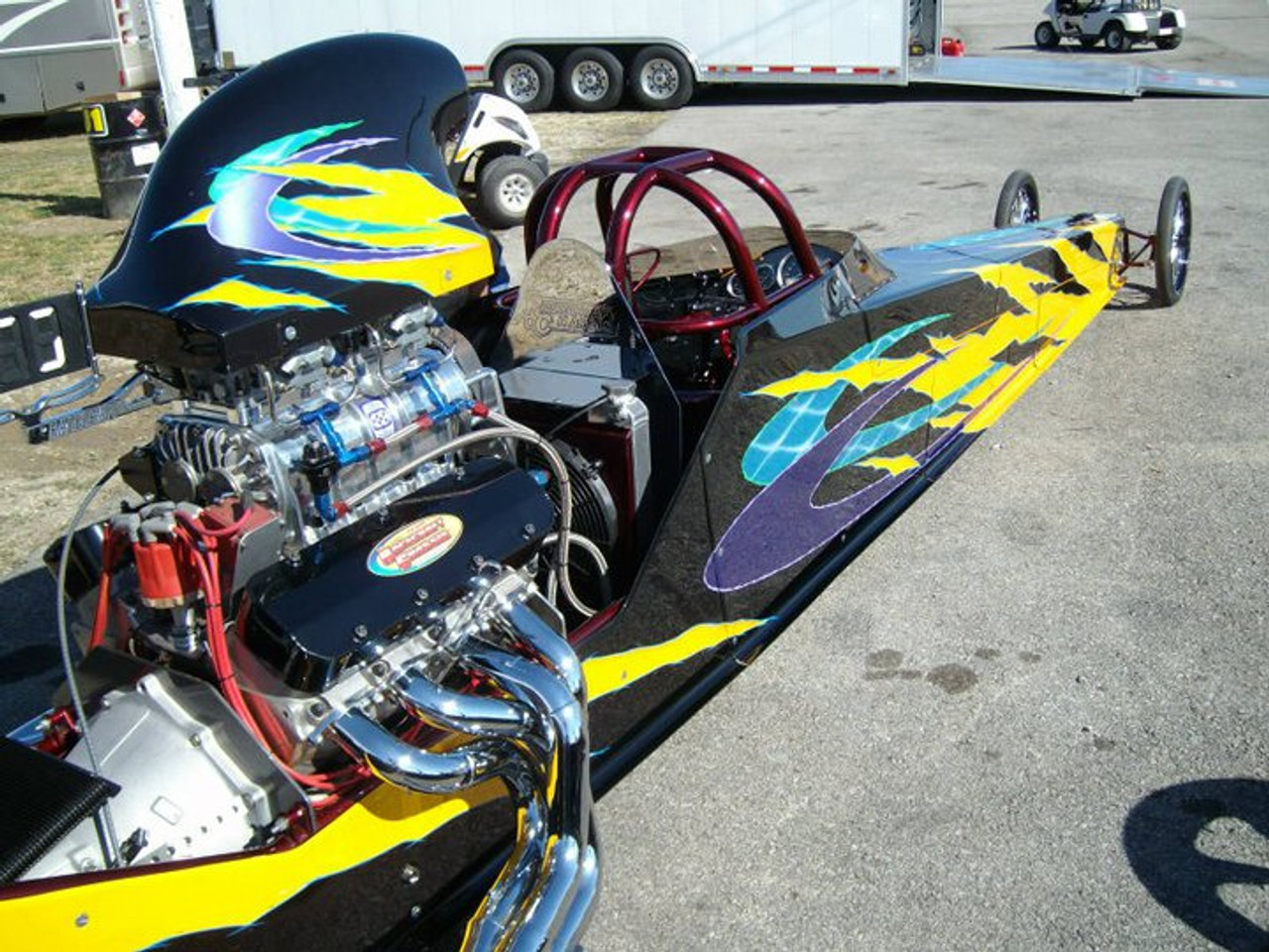 Danny Nelson Racecraft Chassis dragster