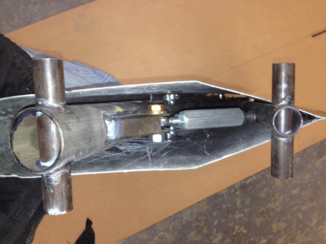Racecraft Mono Strut Aluminium Wing, Standard or Short