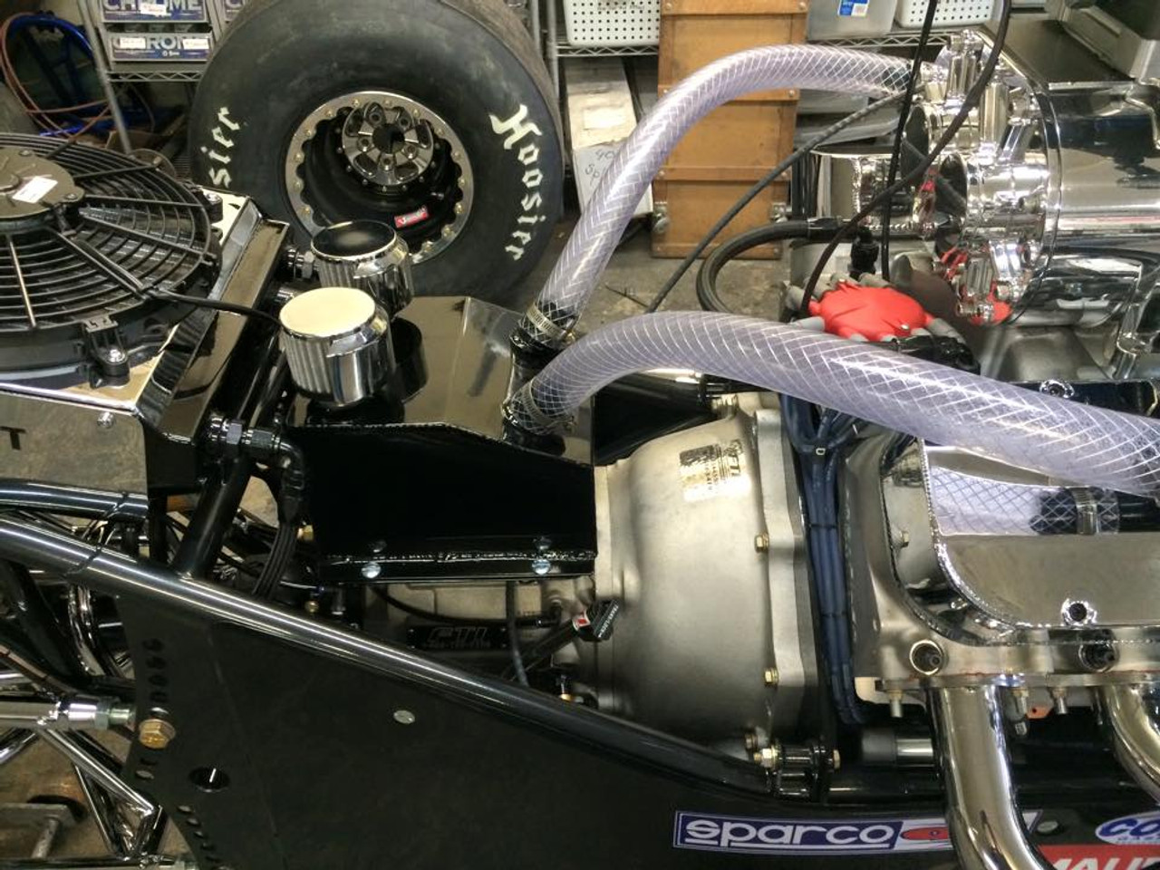 Racecraft Breather Tank with Baffle and Filters, Mandatory in 2018 for any engine that applies boost as a power adder