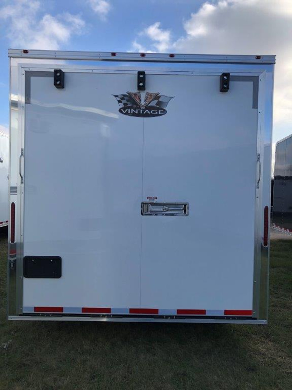 2019 34' Vintage Pro Stock Race Car Tag Enclosed Trailer