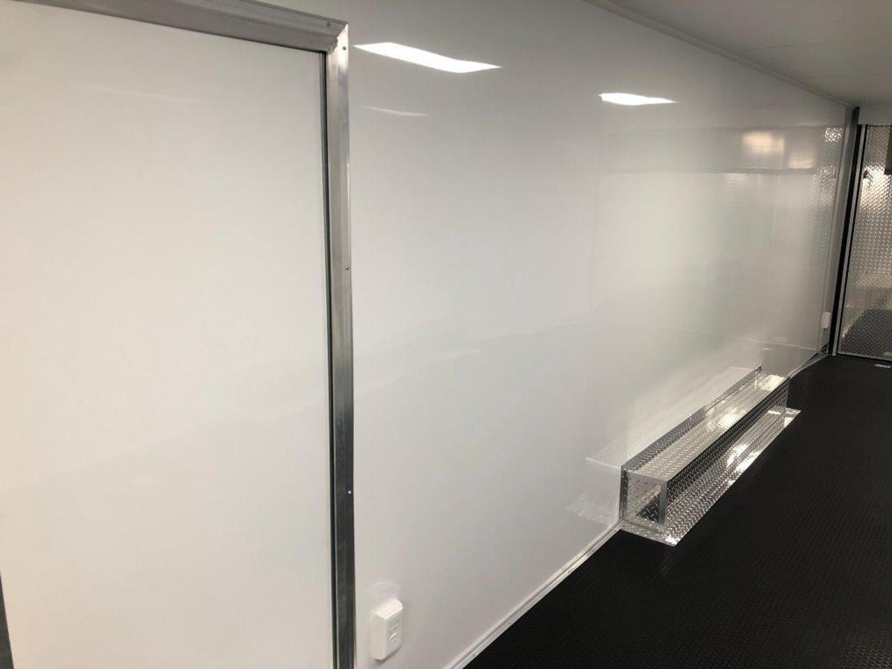 2019 28' Vintage Pro Stock Race Car Tag Enclosed Trailer interior