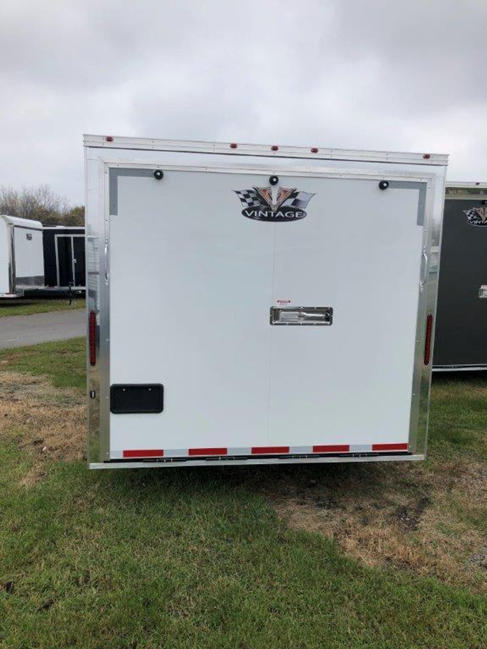 2019 28' Vintage Pro Stock Race Car Tag Enclosed Trailer