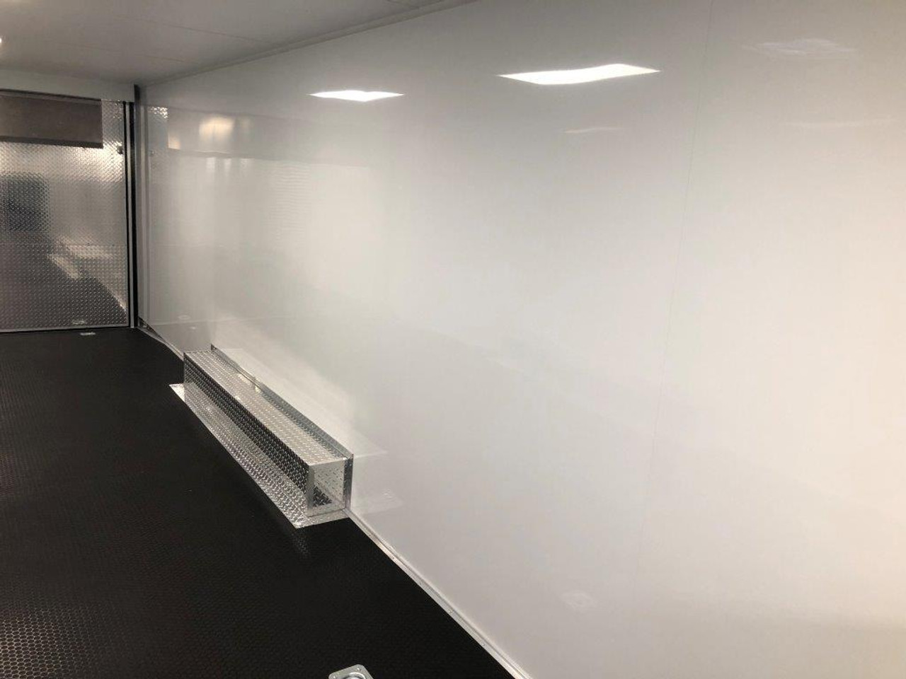 2019 28' Vintage Pro Stock Race Car Tag Enclosed Trailer walls