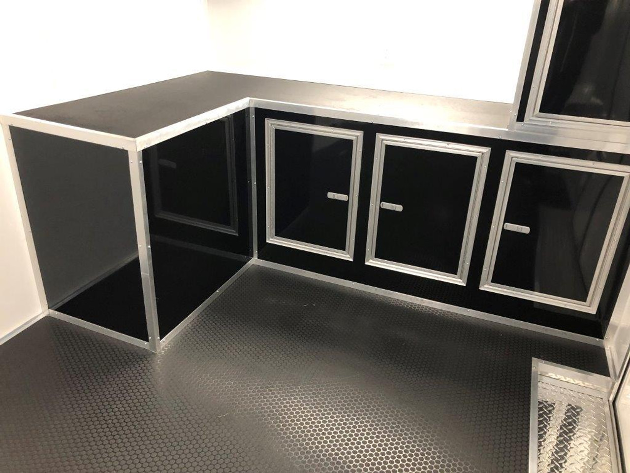 2019 28' Vintage Pro Stock Race Car Tag Enclosed Trailer cabinets